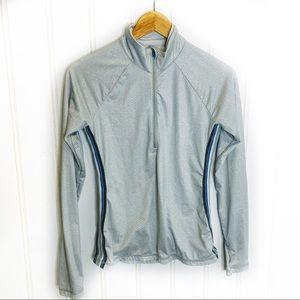 Athleta Half Zip Pullover Top